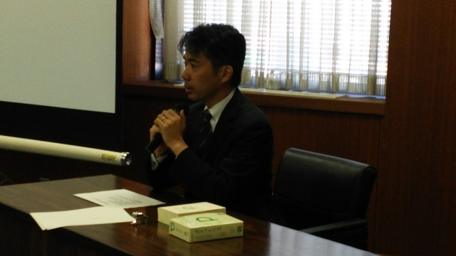 桐生謙吾が講演を行いました!